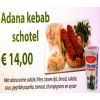 58. Adana kebab schotel